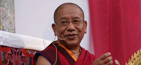 Sherab Gyaltsen Rimpoche