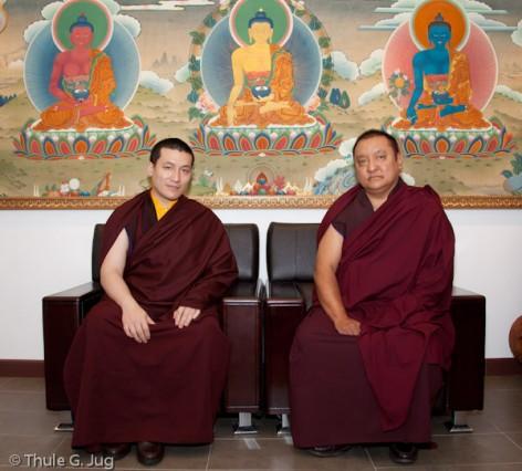 Karmapa y Shamarpa en Hong Kong