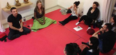 curso de meditación con Sax Cammarata