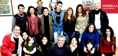 6 aniversario de centro de meditación budista en Marbella