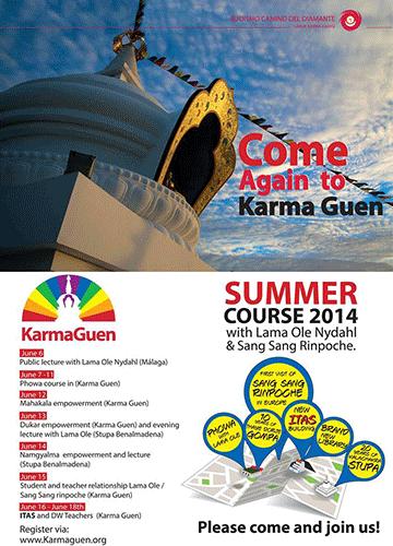 Curso de verano en Karma Guen