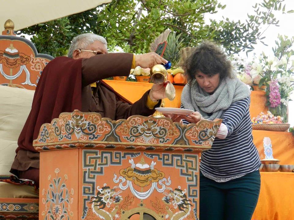 Iniciación con Lama Jigme Rimpoche