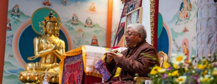 Visita de Lama Jigme Rimpoche a España